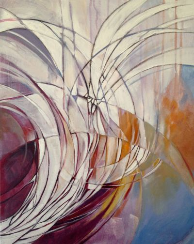"Spiritus Sancti, Acrylic on Canvas, 16""x20"", 2014"